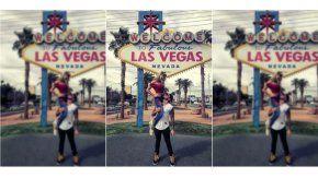 Fede Bal y Laurita, en Las Vegas