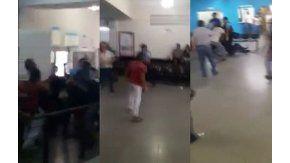 Trabajadores de un call center y policías se pelearon en Córdoba