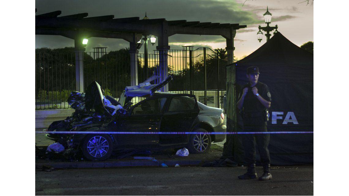 Choque fatal en Puerto Madero: hay tres muertos