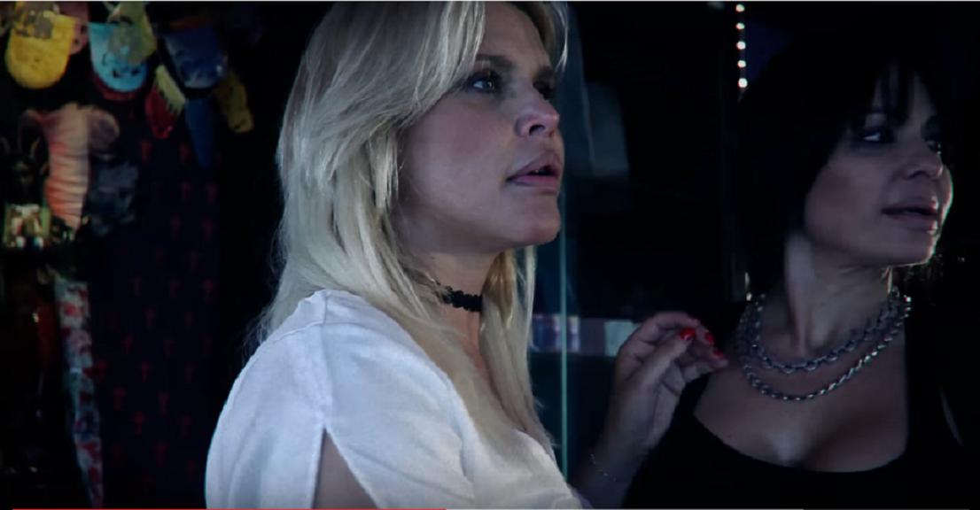 Nazarena y Cardone en la mini serie