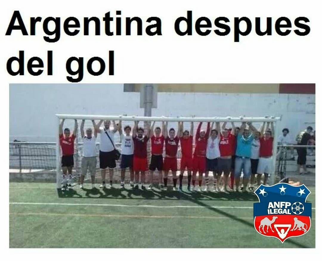 Los infaltables memes de Argentina 1 - Chile 0