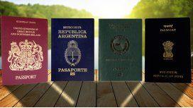 ¿Sabías por qué los pasaportes son de distintos colores? Enterate