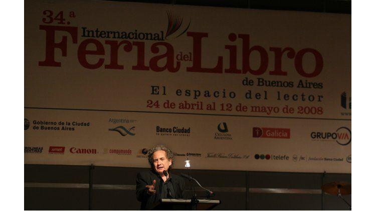 Ricardo Piglia en la Feria del Libro
