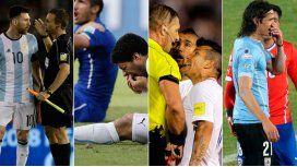 Suárez, Medel y Jara, los antecedentes más cercanos a la sanción de Messi