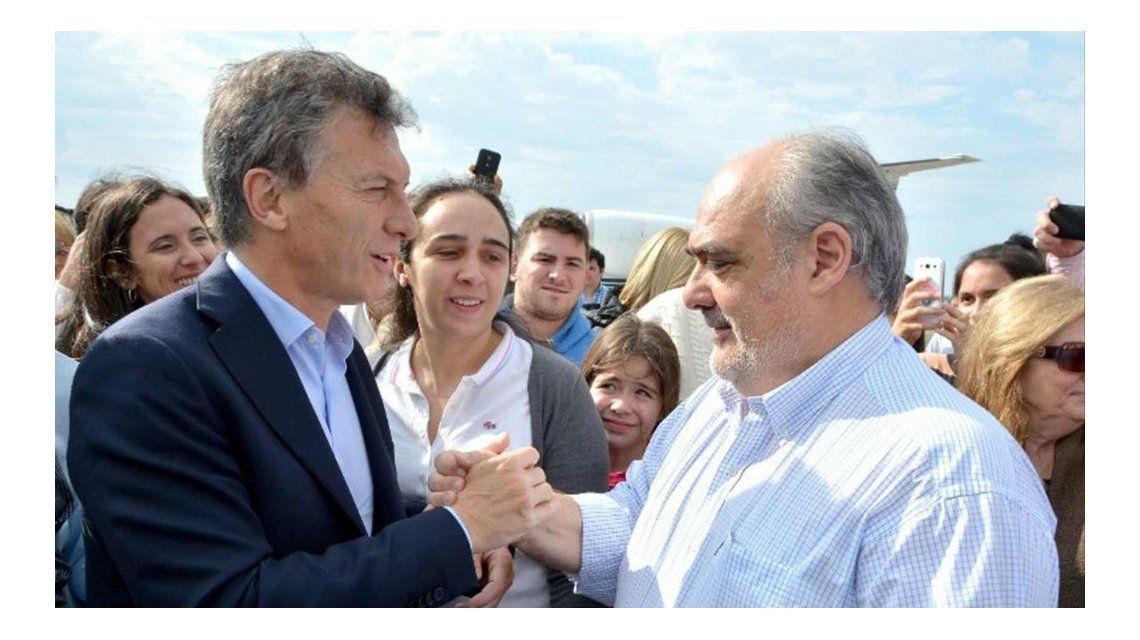 Ricardo Colombi y Mauricio Macri