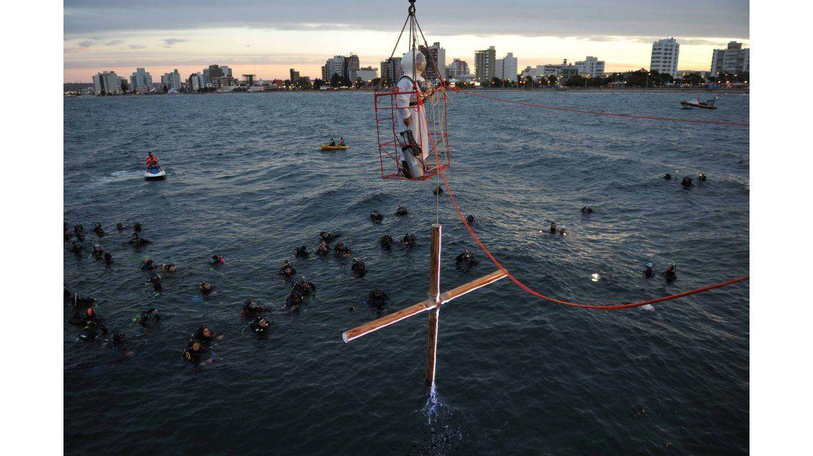 Vuelve el Vía Crucis Submarino