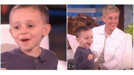 El nene que hizo tentar a Ellen Degeneres
