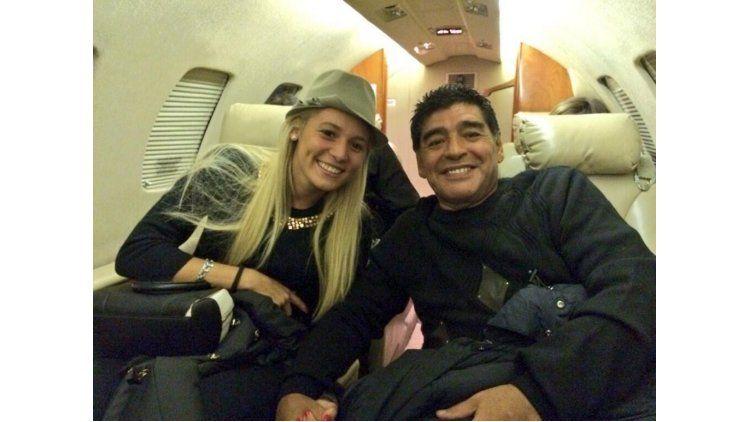 Rocío Oliva ninguneó a Diego Maradona