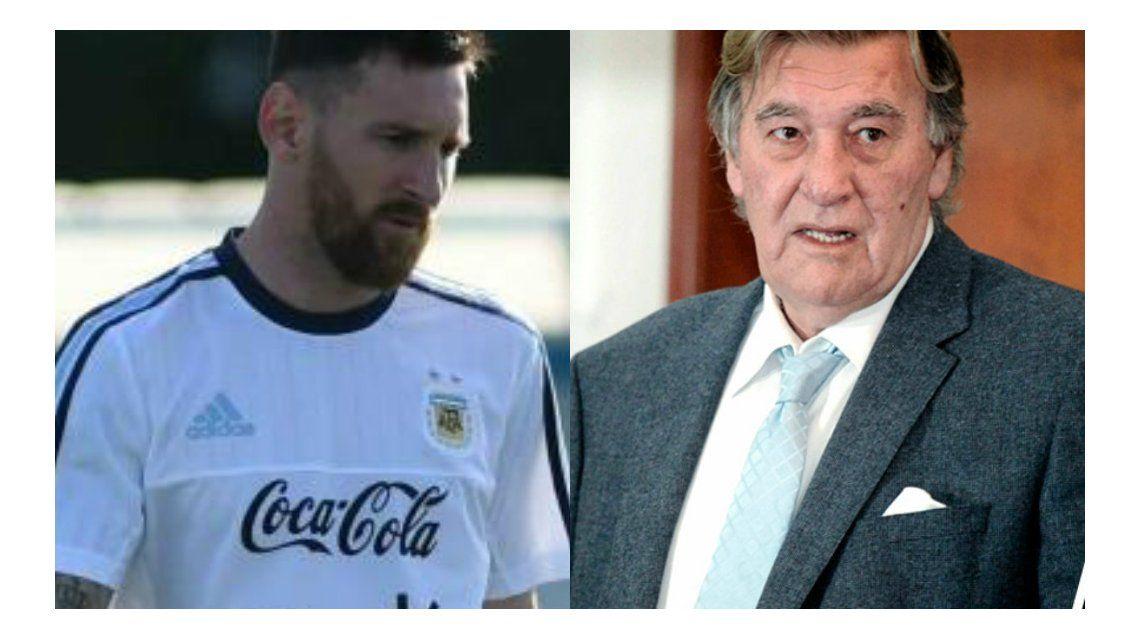 Armando Pérez consideró exagerada la sanción a Messi