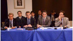 El secretario de DDHH, Claudio Avruj, durante la audiencia