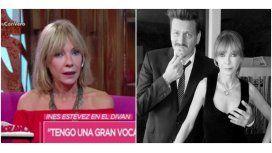 Inés Estévez habló de su buena relación con Javier Malosetti