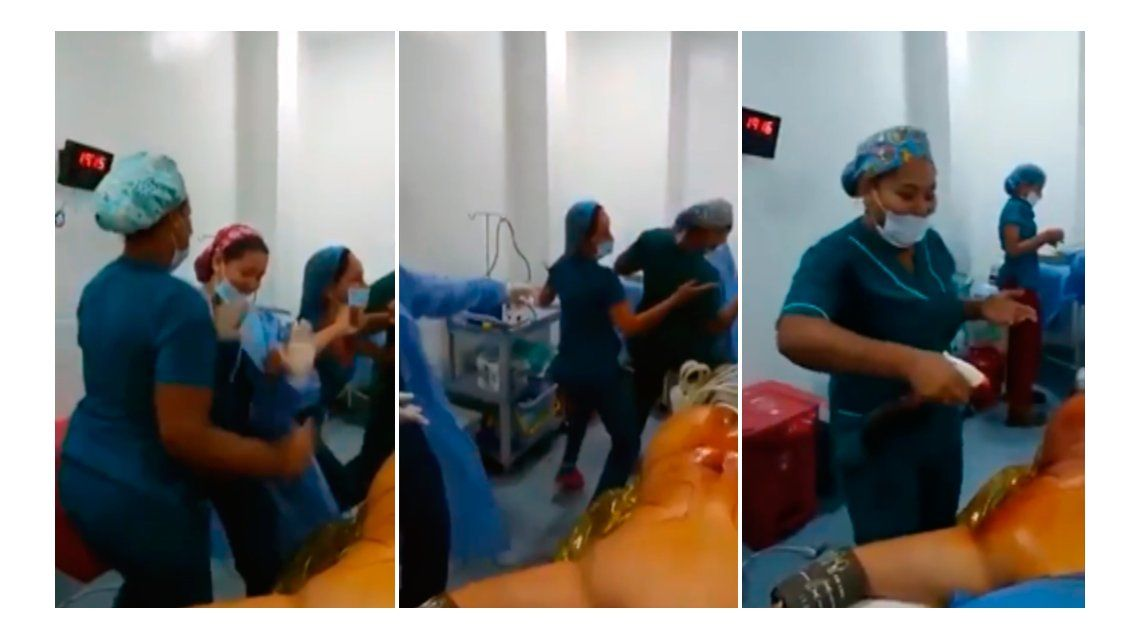 VIDEO: Un grupo de enfermeras baila en pleno quirófano