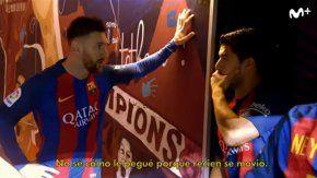 La conversación entre Messi y Suárez que reveló la tv española