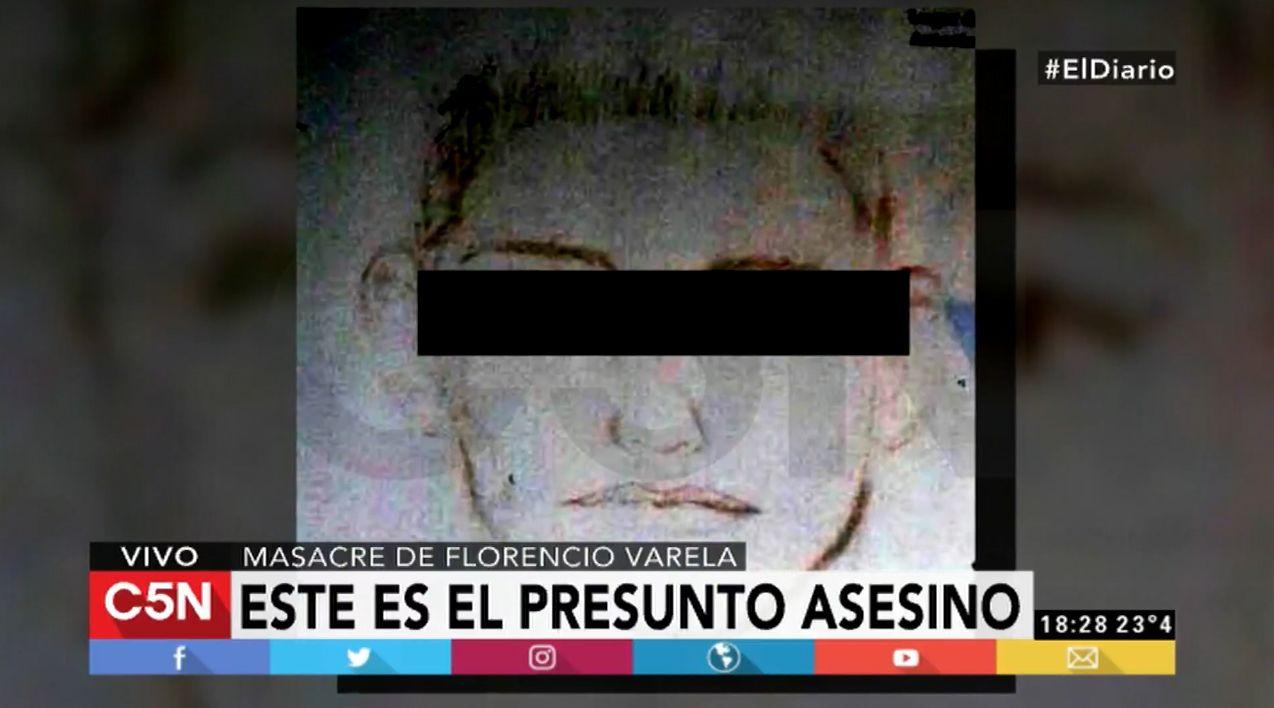 Éste es el presunto autor de la masacre de Florencio Varela
