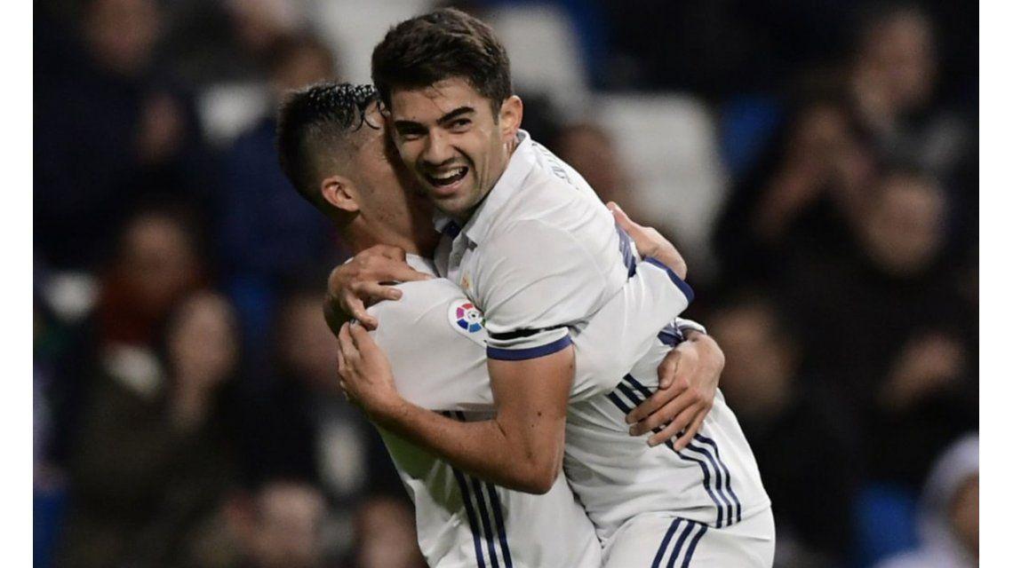 Salió al padre: el golazo de chilena de Enzo Zidane en el Real Madrid