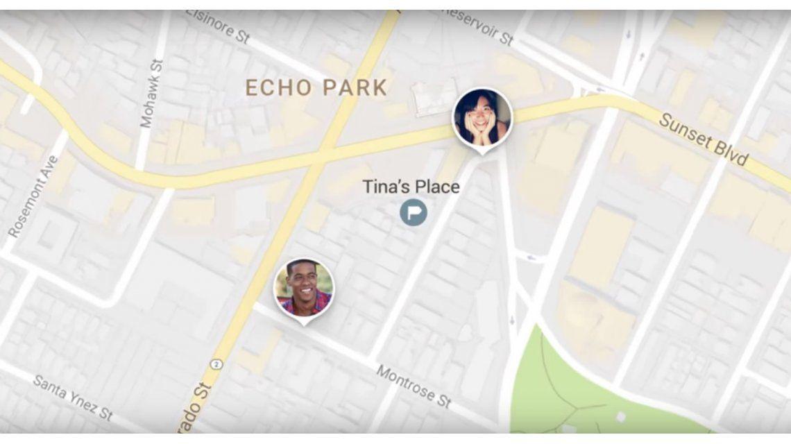 Google Maps permite compartir tu ubicación en tiempo real