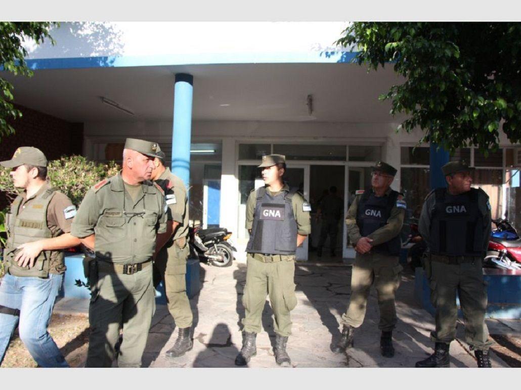 Cinco policías fueron detenidos en causa por drogas en San Juan. Foto: diario de Cuyo.