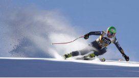 La esquiadora italianaJohanna Schnarfsufrió una caída que no tuvo fin