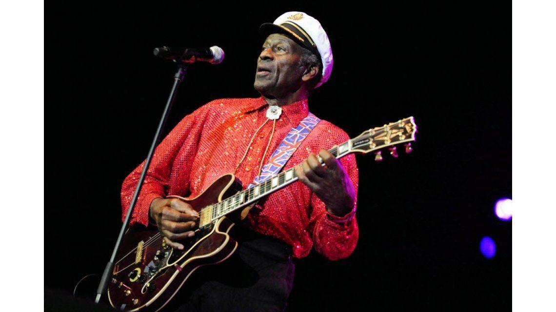 Chuck Berry tenía 90 años