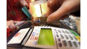 Posnet utilizado para compras con tarjetas de débito y crédito