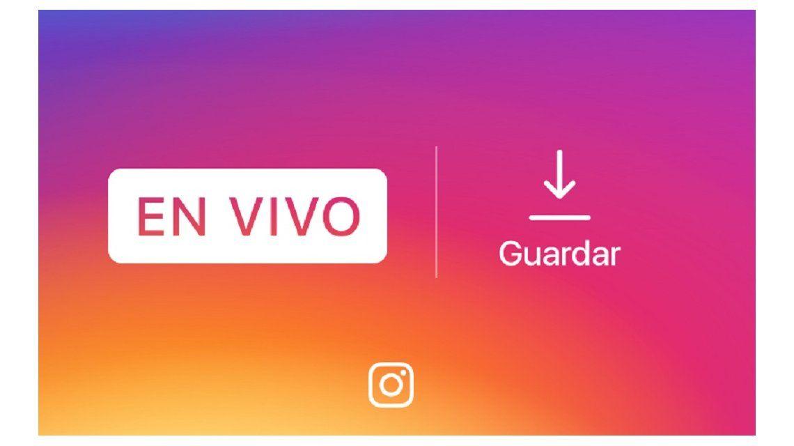 Instagram ya permite guardar videos de transmisiones en vivo