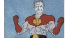 Capitán Pobreza, la versión de Macri con súper poderes