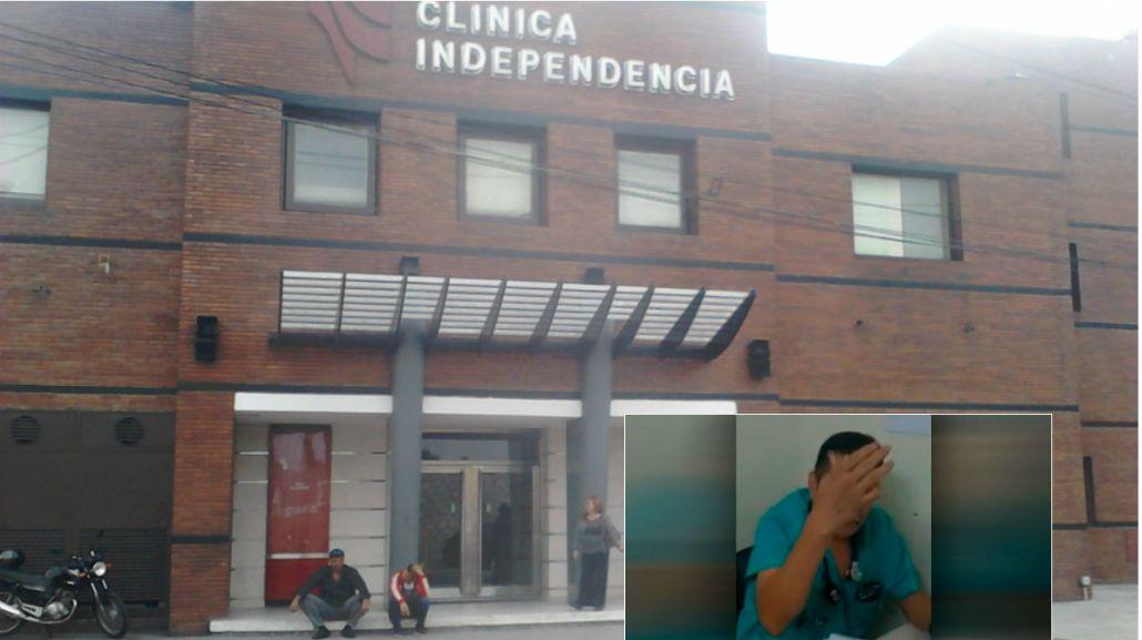 Esta es la clínica Independencia de Munro donde otra víctima fue atendida por el médico denunciado