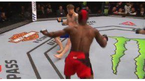 A Diakiese le bastaron menos de 30 segundos para terminar el combate