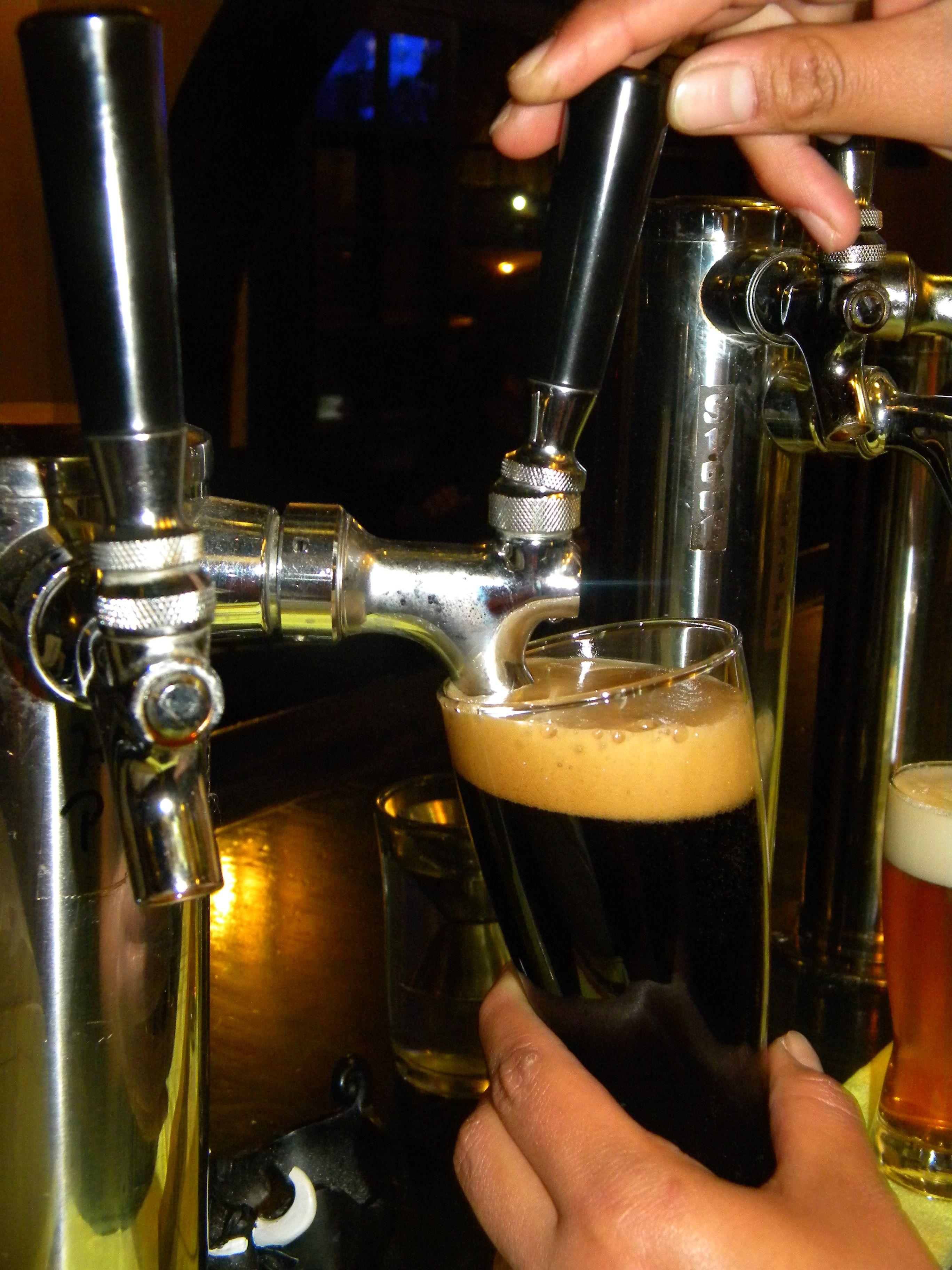 La fiesta de los tréboles y la cerveza negra