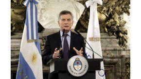 Mauricio Macri desde la Casa Rosada