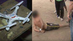 Una banda narco usaba un drone en San Martín