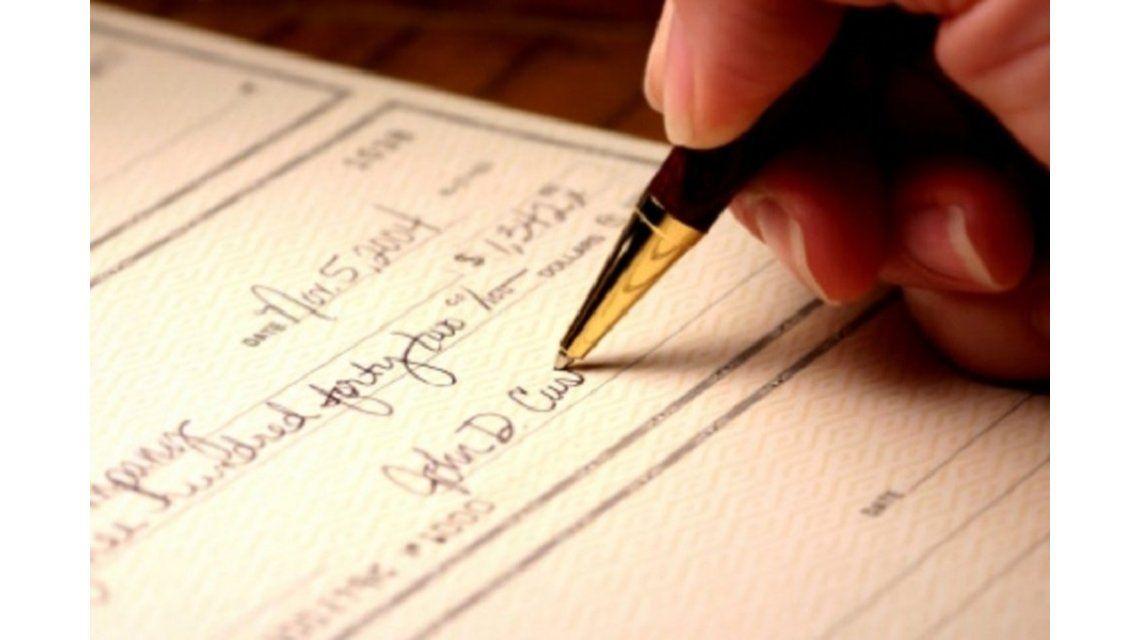 Una nueva app que permite digitalizar cheques
