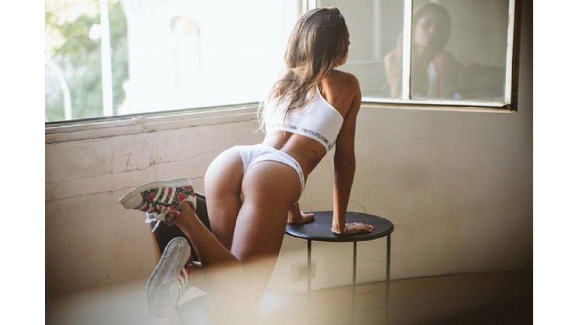 Sofía González, la ex bailarina de ShowMatch que posó para Playboy
