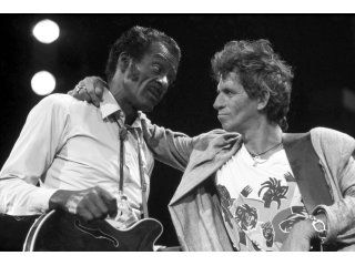 Maestro y alumno: Chuck Berry y Keith Richards