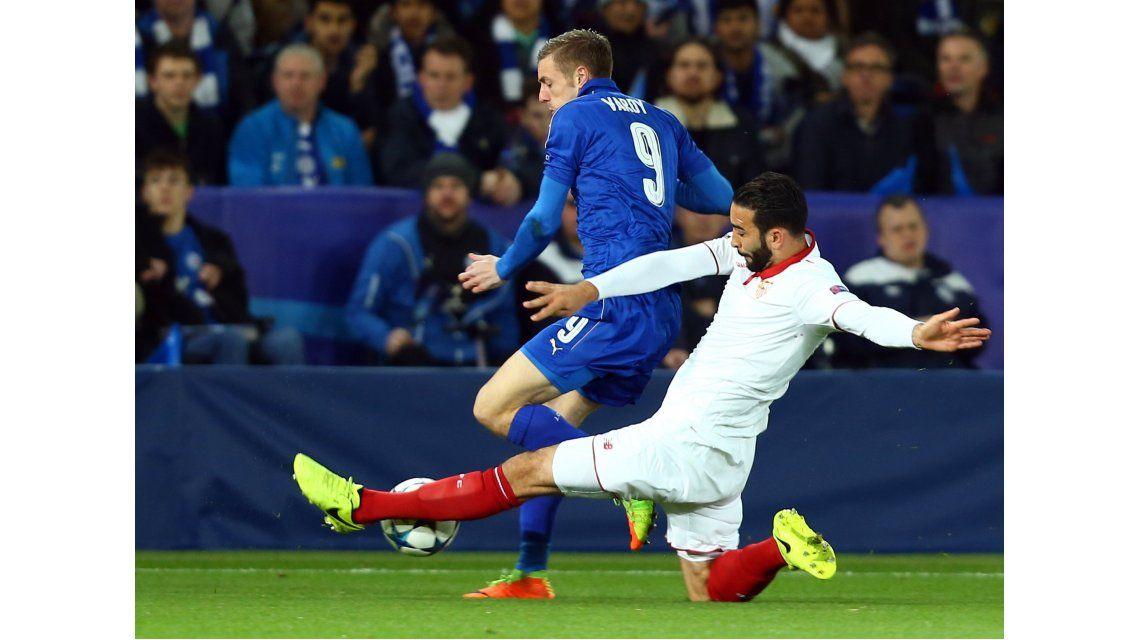 El Sevilla de Sampaoli no jugó bien y quedó eliminado ante Leicester en Inglaterra