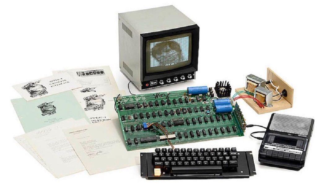 Subastan la primera computadora creada por Apple