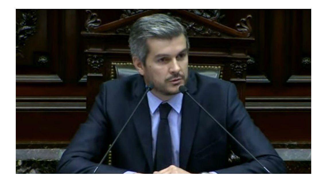 Marcos Peña brindará el informe de gestion del Gobierno