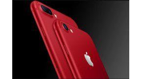 Apple anunció un nuevo iPhone rojo