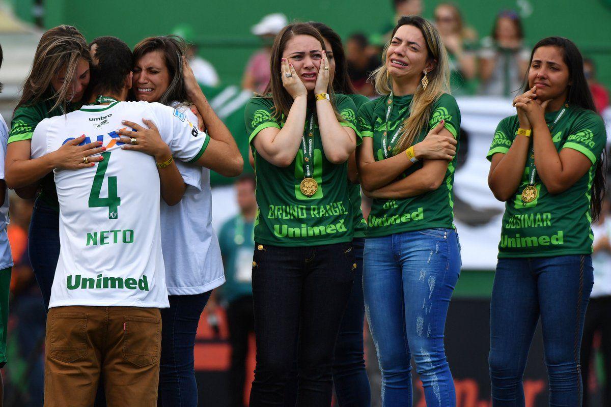 Cinco viudas de jugadores demandarán a Chapecoense