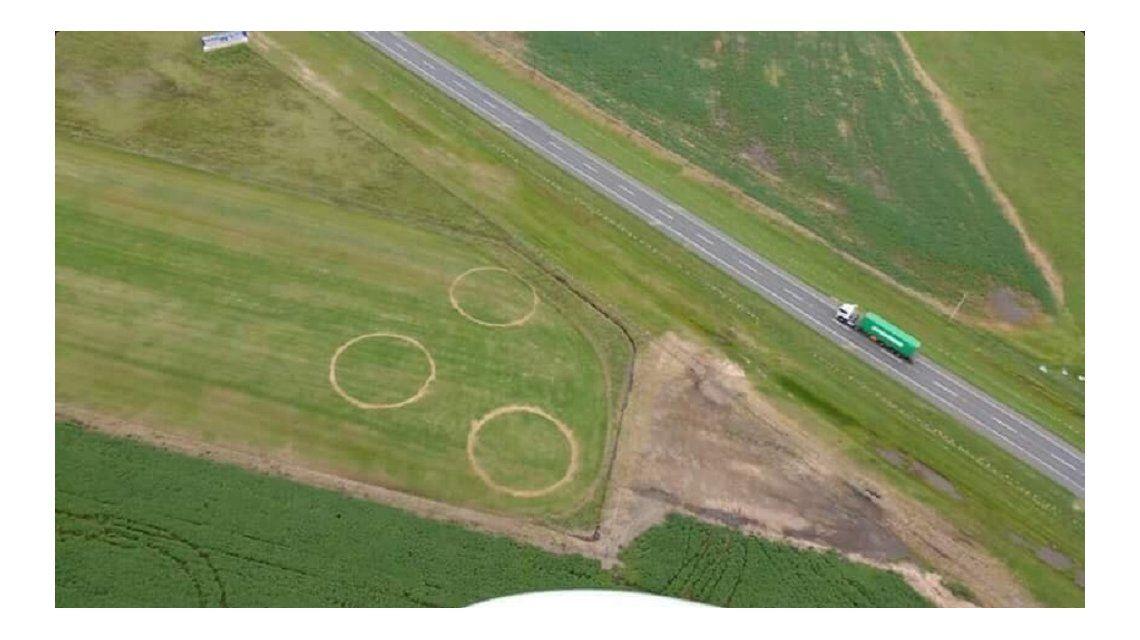 Los tres círculos gigantes