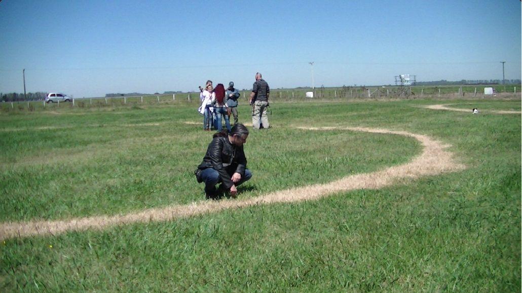 Especialistas tomaron muestras del suelo