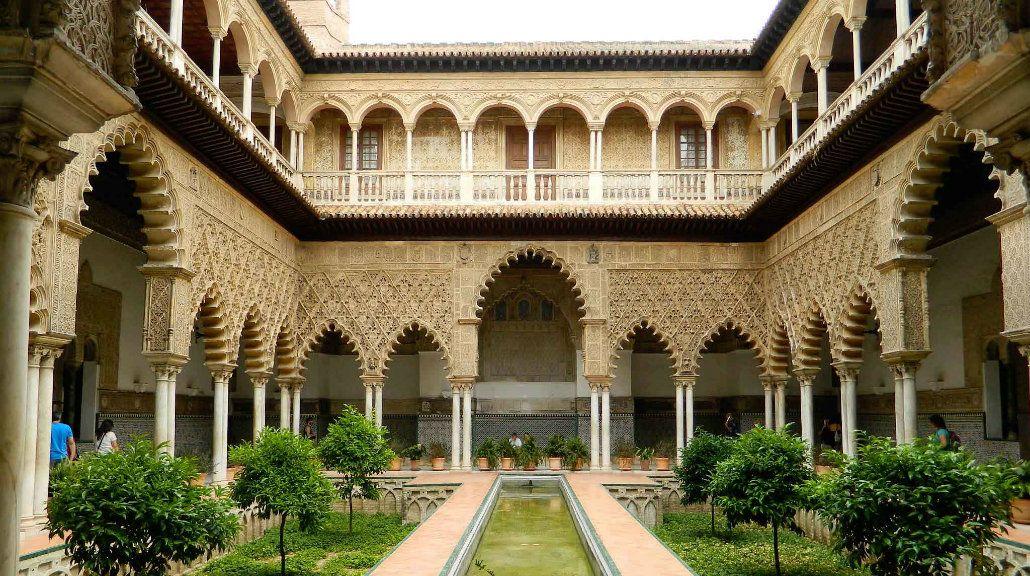 Dorne encontró su capital en el Alcazar de Sevilla