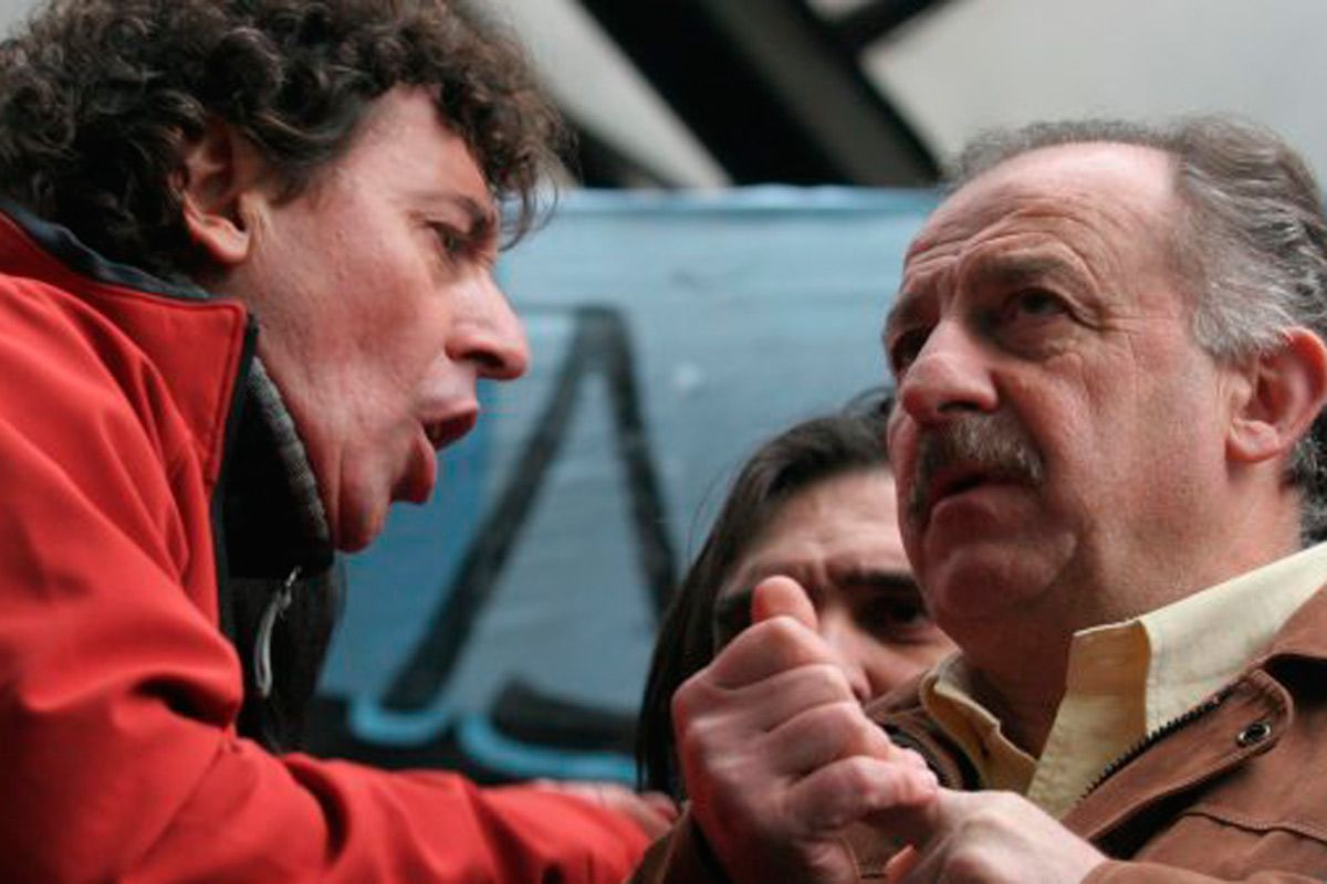 Pablo Micheli y Hugo Yasky