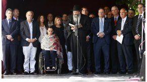 Comenzó el acto por los 25 años del atentado a la embajada de Israel