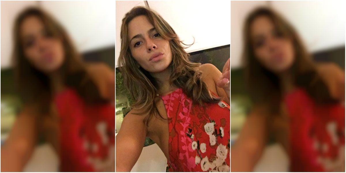 Rocío Gancedo en una de las últimas fotos que compartió