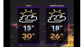 Pronóstico del tiempo del martes 14 de marzo de 2017
