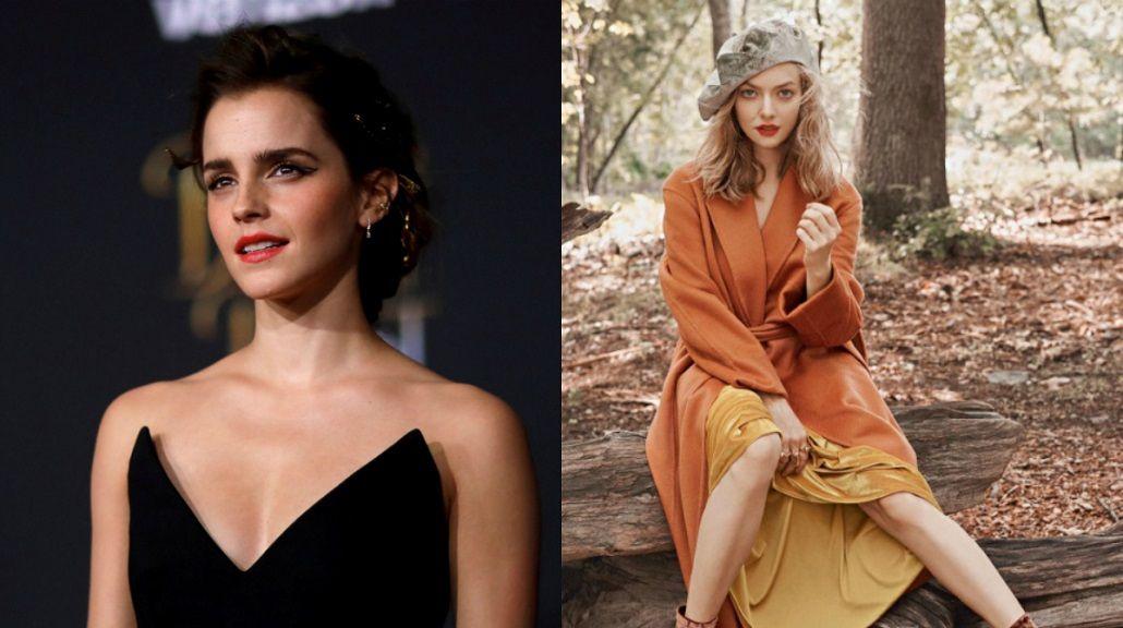Se filtran fotos íntimas de Emma Watson y Amanda Seyfried