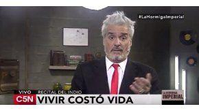 Roberto Pettinato criticó con dureza al Indio Solari