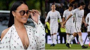 Rihanna tuvo sexo con dos jugadores del PSG