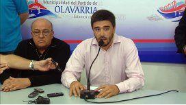Ezequiel Galli, intendente de Olavarría